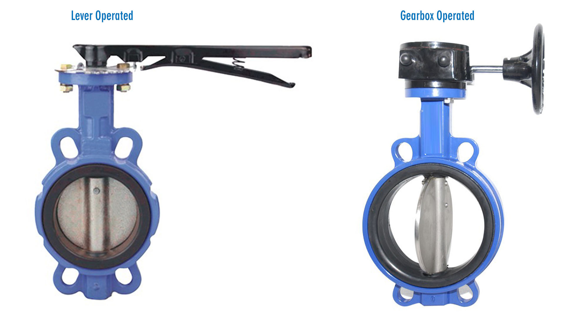 HMP 12A Concentric Wafer Type Butterfly Valves1.1